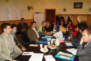 Reuniune de proiect european